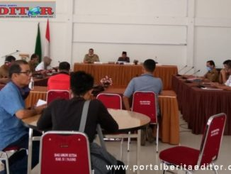 Evaluasi penanganan Covid-19 Kabupaten Sijunjung.