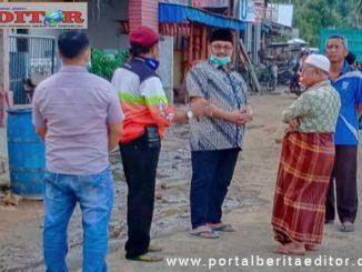 H.Benny Utama,SH MM saat berada di kecamatan Dua Koto