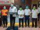 Jajaran Pemko Sawahlunto bersama Direktur RSUD Sawahlunto ketika memberikan keterangan kepada wartawan