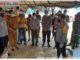 Kapolda Sumbar Bersama Bupati Dhamasraya melakukan peninjauan posko pencegahan penyebaran COVID-19 di perbatasan Sumbar-Jambi