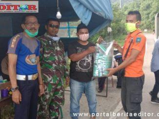 Kegiatan pemuda kreatif Kota Sawahlunto melawan Covid-19.