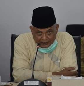 Ketua MUI Kota Padang Duski Samat dalam penyampaian saran mengenai PSBB.