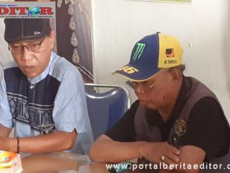 Ketua dan Sekretaris Balai Wartawan Kota Sawahlunto.