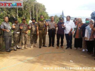 Kunjungan DPRD Kab. Pasaman ke posko Covid-19 ke perbatasan Sumbar-Riau.
