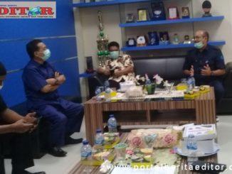 Kunjungan Komisi II DPRD Kota Padang ke PDAM.