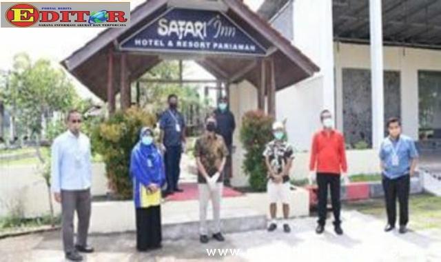 Paramedis RSUD Pariaman yang diinapkan di Safari Inn Hotel and Cottege,