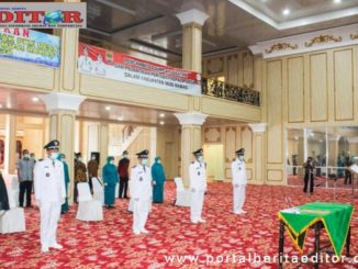 Pelantikan Penjabat Kepala Desa oleh Bupati Muara Rawas.