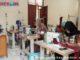 Pembuatan masker di BLK Batusangkar.