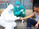 Pemeriksaan kesehatan ODP dari luar kota Payakumbuh.
