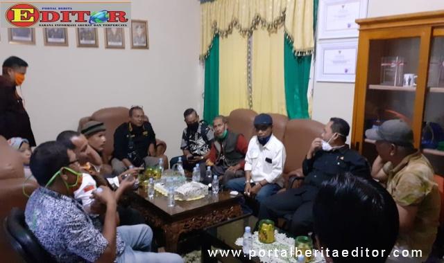 Pengurus dan Anggota BWKS saat audiensi dengan Kejari Kota Sawahlunto, Khunaifi Alhumami SH, MH.