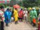 Penyemprotan disinfektan di Sesa Jaya Tunggal.