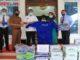 Penyerahan bantuan dari Bank Nagari dalam rangka penanggulamngan dan pencegahan covid-19 di Kabupaten Solok