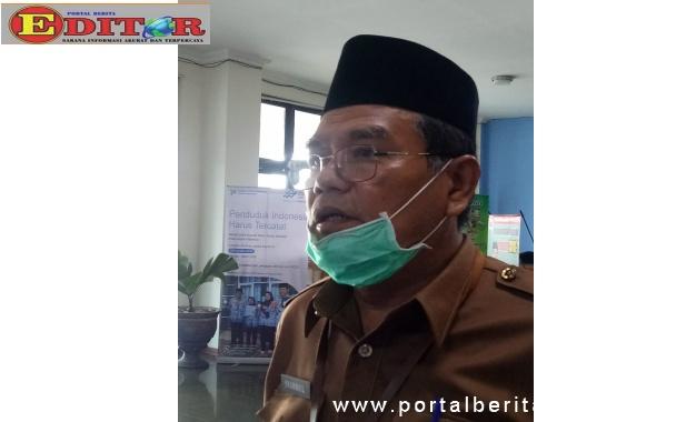 Plt kepala Dinas kesehatan harus kota Pariaman Syahrul.