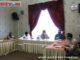 Rapat evaluasi PSBB di Kab. Solok.