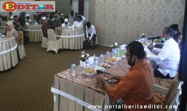Rapat lanjutan Pemkab Solok dengan forum umat beragama.
