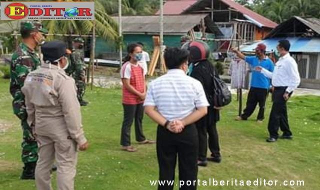 Salah satu kegiatan pencegahan Covid19 di Mentawai.