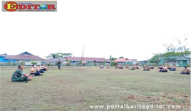 Senam dan berjemur bersama untuk meningkatkan ketahan tubuh melawan Covid-19 di Mentawai.
