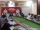 Suasana Jumpa Pers bersama Walikota dan tim penanganan virus corona.
