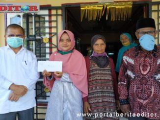 Bupati Ali Mukhni bersama Dani Rahman, Juara Nasional Indonesia Mengaji.