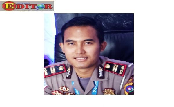 Kasatlantas Polres Kabupaten Sijunjung Iptu Ghanda Devidiningrat G SIK.