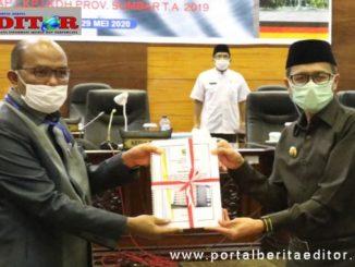 Ketua DPRD Sumbar Supard