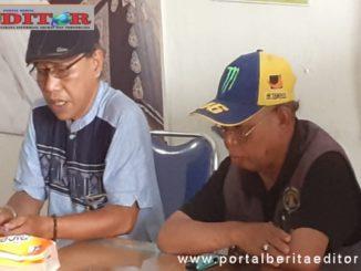 Ketua bersama Sekretaris. Balai Wartawan Kota Sawahlunto.