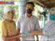 Penyerahan dana klaim AUTP di Kambang, Pessel.