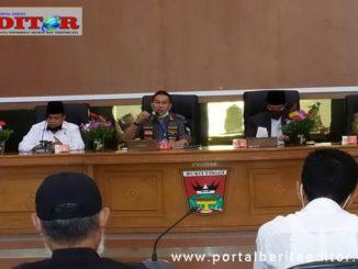 Pertemuan Wako Ramlan Nurmatias dengan MUI Kota Bukittinggi.