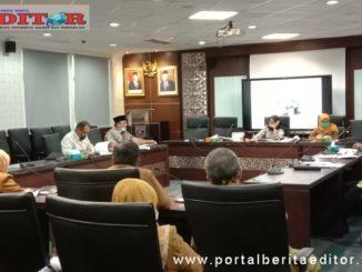 Rapat Kerja Komisi IV DPRD sumbar dengan Dinas PUPR,Dinas PSDA dan Dinas Tarkim