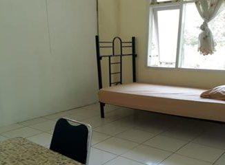 Ruangan untuk karantina di Islamic Center Pagaruyung.