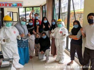 Sebagian pasien yang sembuh covid-19 di Padang Panjang.