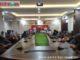 Suasana jumpa pers di ruang rapat Balaikota Sawahlunto.