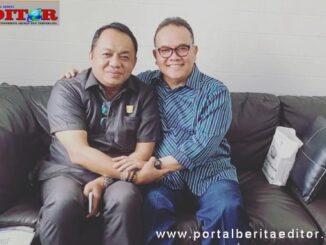 Ali Tanjung bersama Rusdi Zainal.