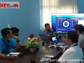 Audiensi KNPI Mentawai dengan Dinas Kominfo dan Terlkomsel.