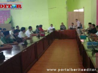 Audiensi calon wali nagari dengan pimpinan DPRD Kab. Pasaman.