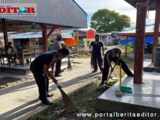 Giat menjelang HUT Bhayangkara di Mentawai.