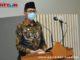 Gubernur Irwan Prayitno saat menjadi khatib shalat Jum'at di Masjid Raya Sumbar.