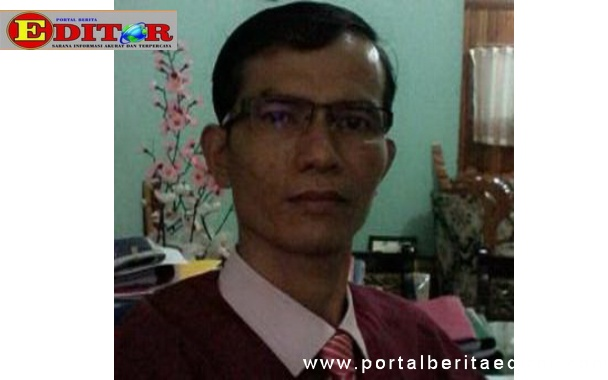Kepala Sekolah SMKN 1Kota Sawahlunto Agus Haryanto.