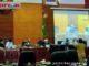 Ketua DPRD Sumbar Supardi saat memmimpin Rapat Paripurna