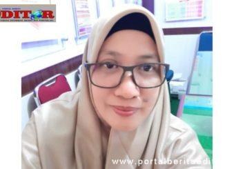 Komisioner KPU Solsel Sasria Nafrita.