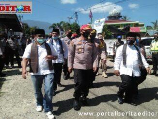 Kunjungan Kapolda Sumbar ke Nagari Jawi-Jawi.