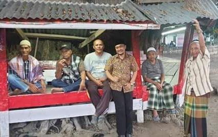 Maigus bersama warga Kab. Solok.