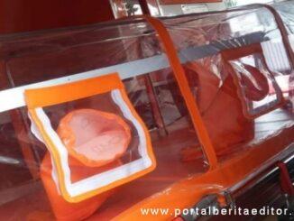 Peralatan medis penunjang uji swab dan alat bantu pernafasan pasien covid di RSUD Solsel.