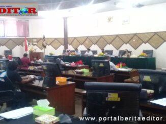 Suasana Hearing DPRD Kota Padang bersama Seniman Musik Kota Padang dan OPD Pemko.