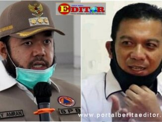Wako Padang panjang, Fadly Amran dan Sekda Sony Budaya Putra.
