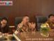 Wako Ramlan Nurmatias bersama Wawako dan Sekdako Bukittinggi.