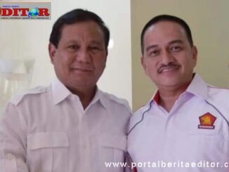 Ismael Koto bersama Ketum DPP Gerndra, Prabowo Subianto.