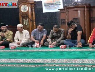 Ketua DPRD Solsel saat menjemput aspirasi warga Padang Aro yang tertinggal soal pembangunan.