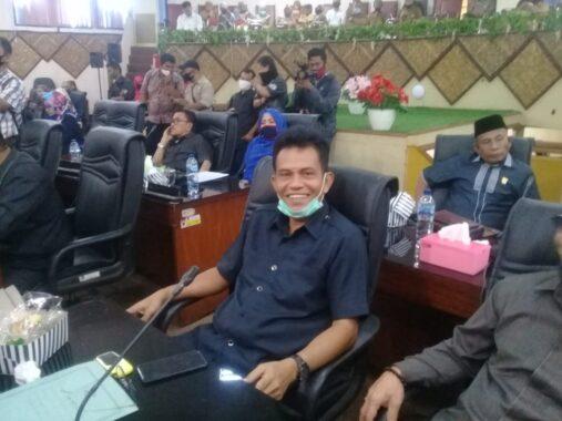 Ketua fraksi Persatuan Berkarya Nasdem, Helmi Moesim.