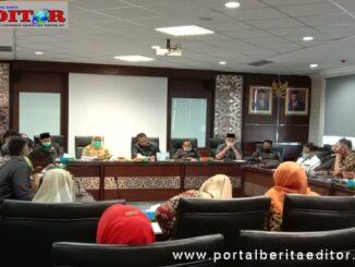 Komisi V DPRD Sumbar hearing dengan MKKS.